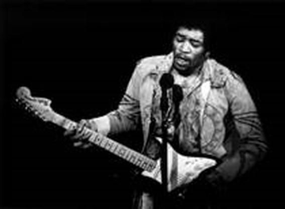 Jimi Hendrix speelde beste gitaarsolo volgens StuBru-luisteraars