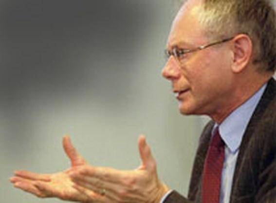 Van Rompuy maandag naar paleis voor tussentijds verslag