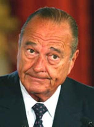 Chirac ,,neemt akte'' van de beslissing van het Franse volk