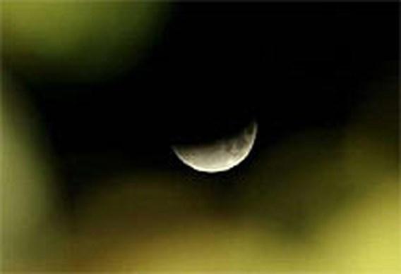Nu zaterdag maansverduistering te zien