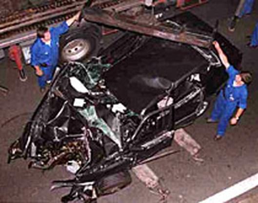Eigenaar wil auto terug waarin Diana verongelukte