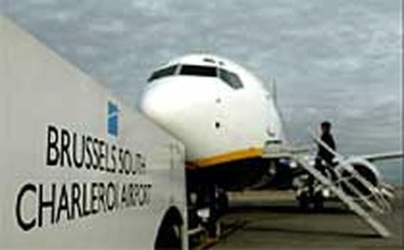 Minder passagiers luchthaven Charleroi
