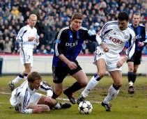 Gert Verheyen: niet te spreken over de reacties op de penalty-fase met Olivier Deschacht.   <br><br><!--para1-->