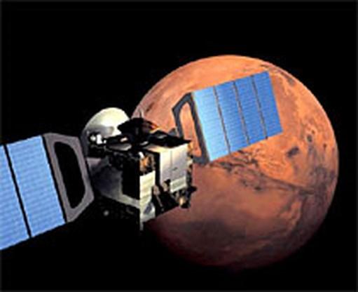 Methaan gevonden in atmosfeer Mars