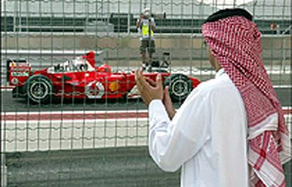 Michael Schumacher wint GP Bahrein