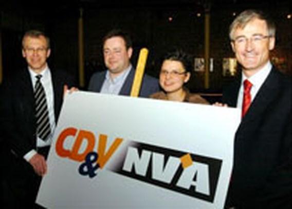 Kartel CD&V-N-VA voorbij