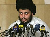 Moqtada al-Sadr raakt steeds meer geïsoleerd.