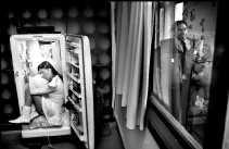 Het majorettemeisje dat zo weinig at, dat ze in een koelkast kon gaan wonen.