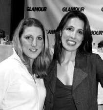 Vanessa and Alexandra Kerry