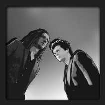 Lennard Busé en Reinert D'haene: ,,Het Nederlands strookt niet met het huidige imago van popmuziek.''