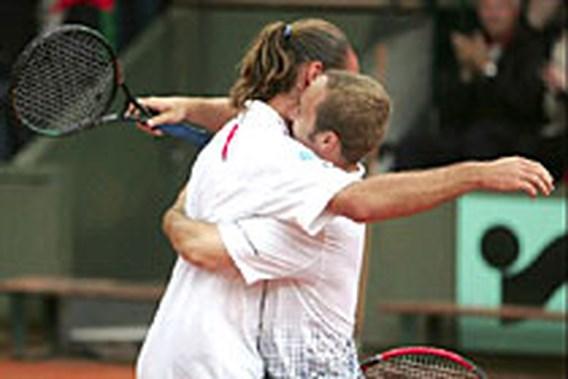 Xavier Malisse en Olivier Rochus schrijven tennisgeschiedenis