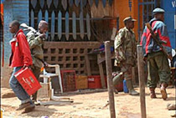 Opstandige militairen in Bukavu beginnen aan terugtrekking