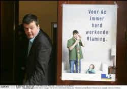 Voorzitter Bart Somers stelt de precampagne van de VLD over de ,,immer hardwerkende Vlaming'' voor.