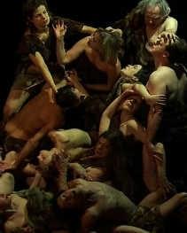 ,,De val der verdoemden'' uit ,,Rubens Metamorfosen'' van Ingrid von Wantoch Rekowski.