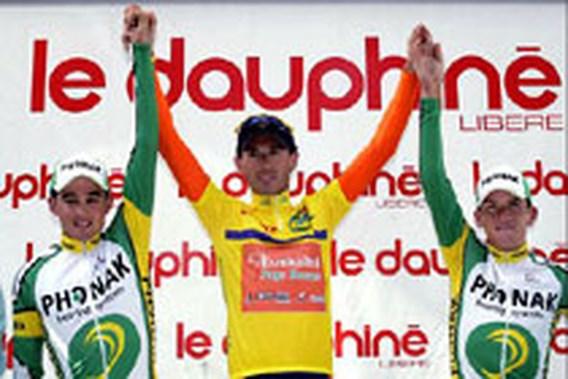 Iban Mayo niet meer bedreigd in slotrit Dauphiné Libéré