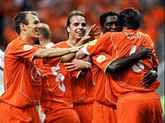 Nederland onverhoopt naar kwartfinale