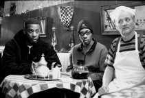 GZA, RZA en Bill Murray in ,,Coffee & Cigarettes''.