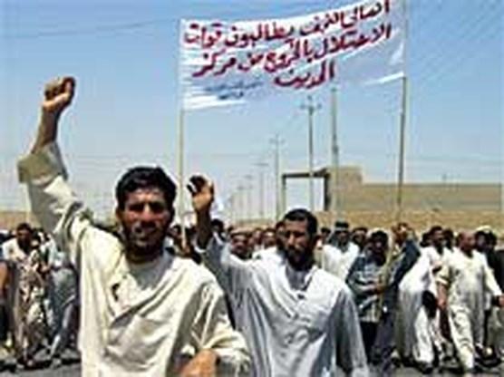 Amerikanen bereiden offensief in Najaf voor