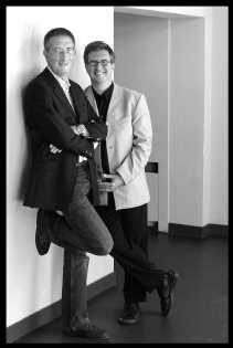 Bert Geenen en Jan Verheyen: ,,Je hoeft je niet te schamen als je je wilt amuseren.''