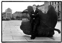 Christoph Ruys op de Kouter in Gent: ,,Gent ligt vol pleintjes die een lust voor het oog zijn.''