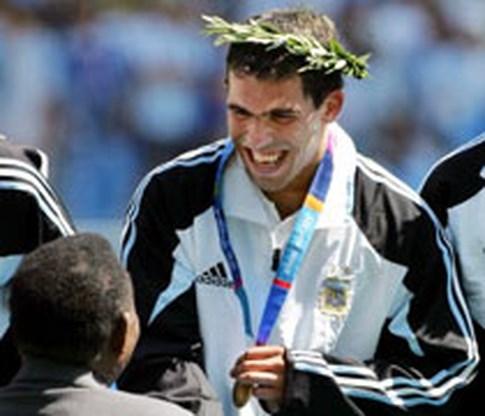 Voetbalgoud voor Argentinië
