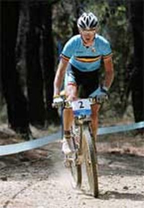 Mountainbiker Roel Paulissen eindigt vierde