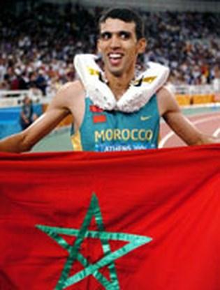 El Guerrouj wint zowel 1500 als 5000 meter