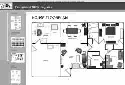 Bij Gliffy.com kun je in een handomdraai je interieur herschikken. Je kunt het resultaat ook on line met anderen delen.