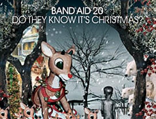 Band Aid-single niet te koop in de VS