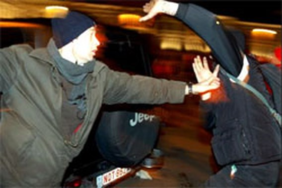 Links en rechts slaags in Gent