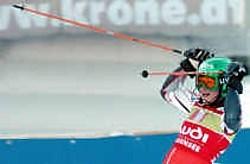 De Finse Tanja Poutiainen was zondag de snelste op de slalom in het Oostenrijkse Altenmarkt.