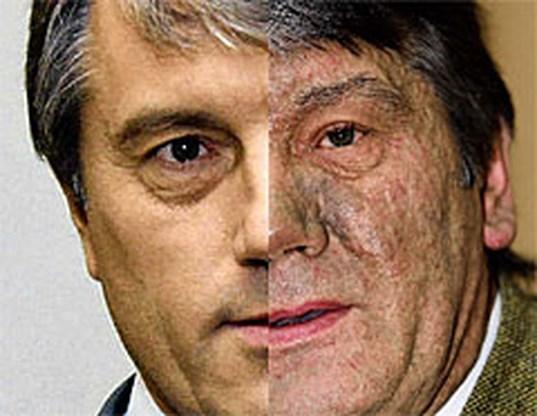 Recordhoeveelheid dioxine in bloed Joesjtsjenko