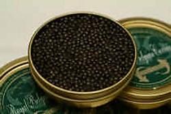 30 gram ,,Royal Belgian Caviar'' kost zo'n vijftig euro.