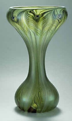 Vaas van Tiffany,ca. 1896.