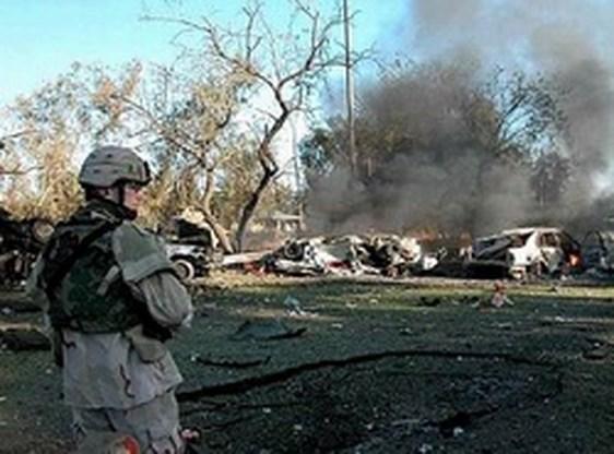 Weer zelfmoordaanslag bij Groene Zone in Bagdad