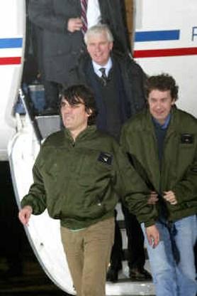 Franse spionagedienst werkte aan vrijlating journalisten
