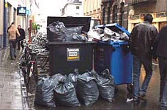 Gents afval wordt weer opgehaald