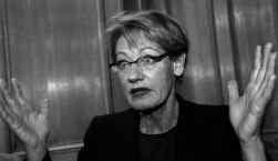 De gedachte dat de flamboyante Gudrun Schyman aan het hoofd komt van een vrouwenpartij doet de gevestigde partijen sidderen.