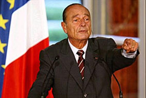 Chirac weigert te zeggen of hij zich herkiesbaar stelt