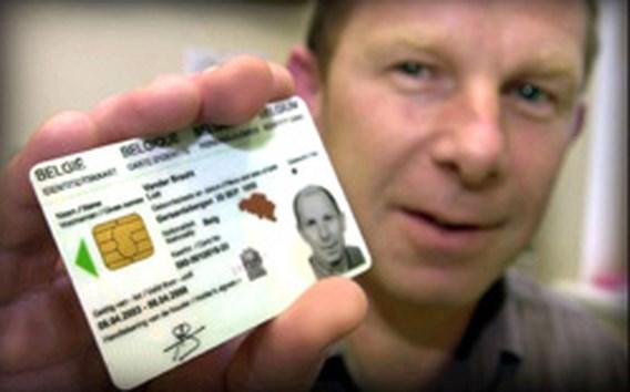 Opzettelijke schrijffout op nieuwe ID-kaarten
