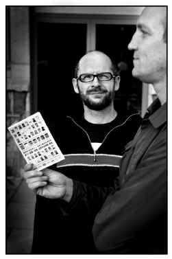 Eric Smout en (opzij) Marc Verstappen, de mannen achter De Nachten.