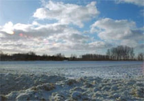 Vlaanderen onder sneeuwtapijt