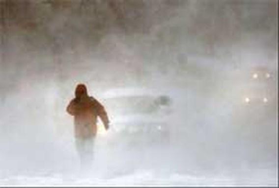 Minstens 18 doden bij zware sneeuwstormen in VS