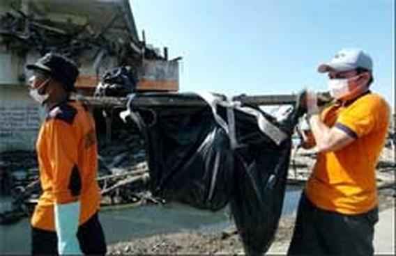 Indonesië telt enkel nog begraven tsunami-slachtoffers