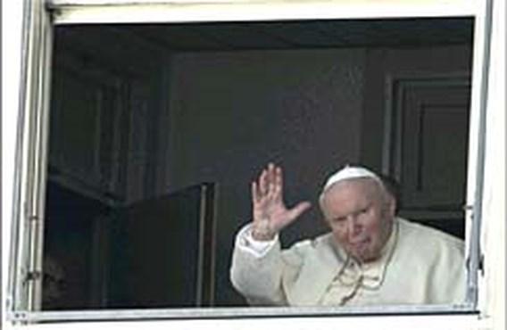Paus geeft stille zegen