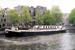Van Amsterdam naar het IJsselmeer.