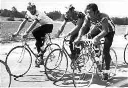 Frans Verbeeck (links): eeuwige geklopte achter de twee groten van zijn tijd, Eddy Merckx en Roger De Vlaeminck.