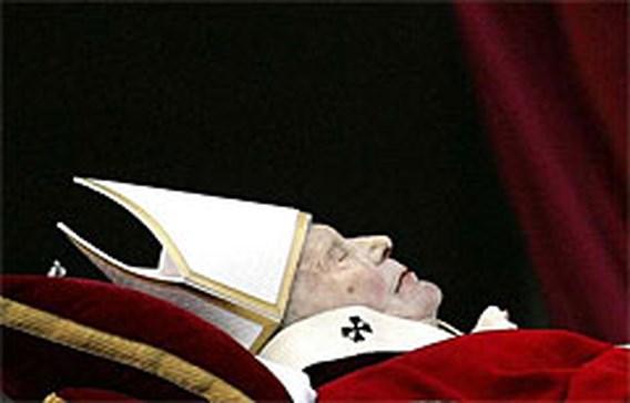 Paus wordt vrijdag begraven