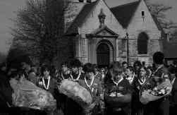 De begrafenis van Joe Van Holsbeeck.