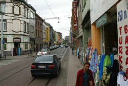 Het merendeel van de panden van de Gentse huisjesmelkers bevindt zich in de Sleepstraat.